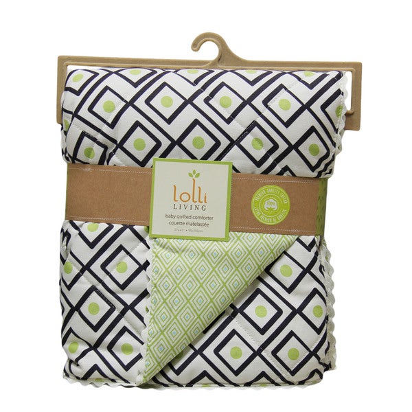 Lolli Living Charcoal Triangle Quilted Comforter