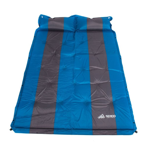 Semoo Double 2-person Polyester Water Repellent Camping Sleeping Mat/ Pad for Hiking and Trekking