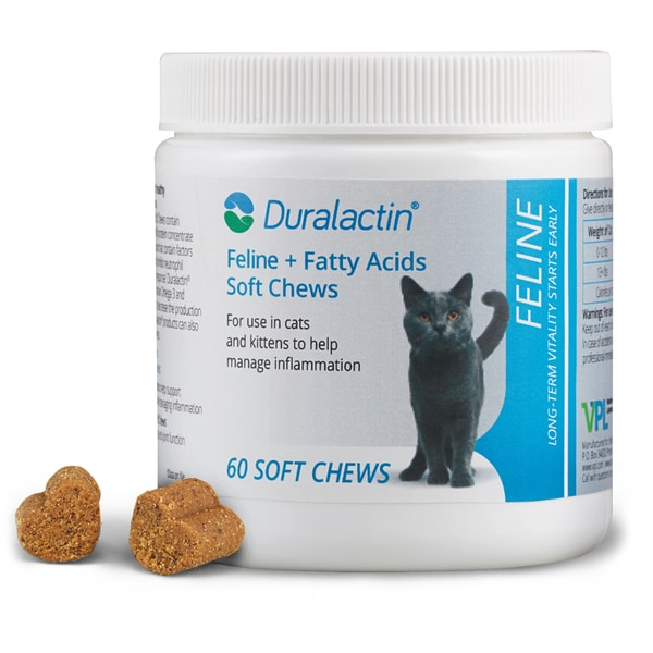 Duralactin Feline Fatty Acid Soft Chews