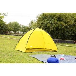 Semoo Quick Cabana Beach Shade Tent Sun Shelter with Carry Bag