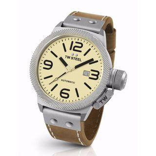 TW Steel Men's CS15 Canteen Cream Watch