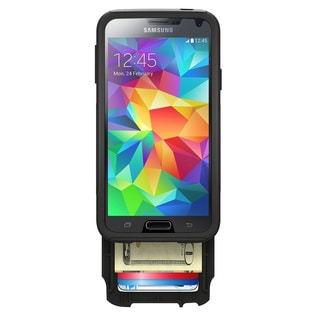 OtterBox 77-40113 Commuter Wallet Series for Galaxy S5 - Black (Refurbished)