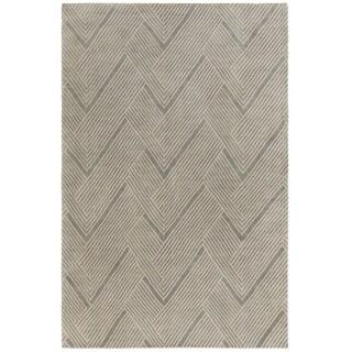 DwellStudio : Hand-Knotted Beijing Wool/Cotton Rug (2' x 3')