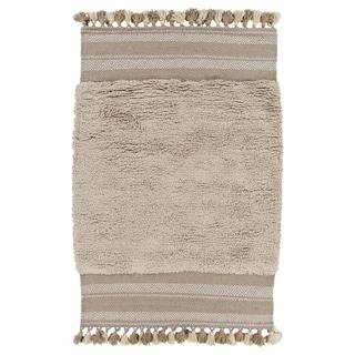 Hand-Woven Beekman Wool/Cotton Rug (2' x 3')