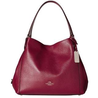 Coach Pebbled Leather Edie 31 Shoulder Bag