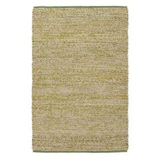 Hand-Woven CanadaOntario Cotton/ Seagrass Rug (8' x 10')