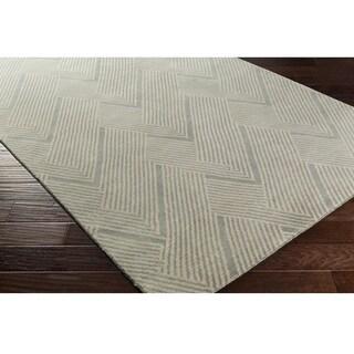 DwellStudio : Hand-Knotted Beijing Wool/Cotton Rug (6' x 9')