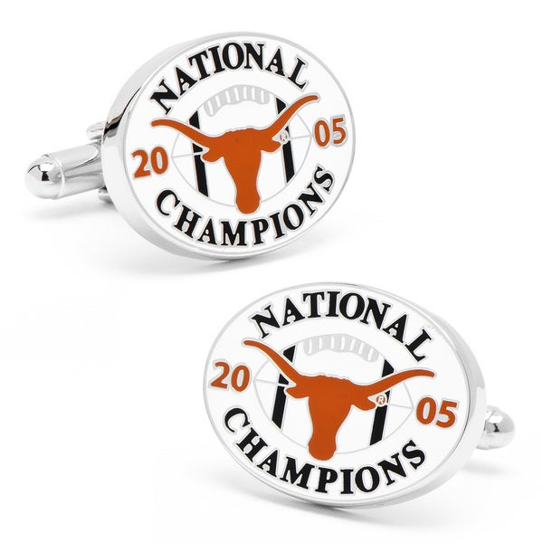 2005 Commemorative Texas Longhorns Cufflinks