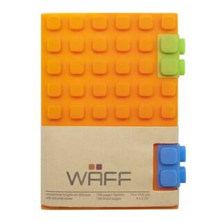 WAFF Orange Silicone Notebook