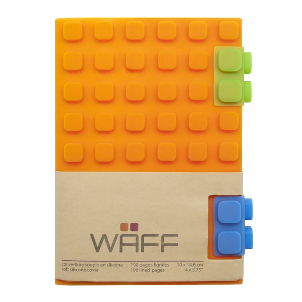 WAFF Orange Silicone Notebook