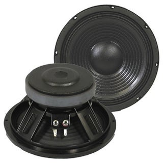 Podium Pro PP102 10-inch Deluxe Pro Audio DJ PA Karaoke Band Replacement Subwoofer Pair