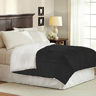 Reversible Ultra Plush Sherpa Full/Queen Sized Comforter