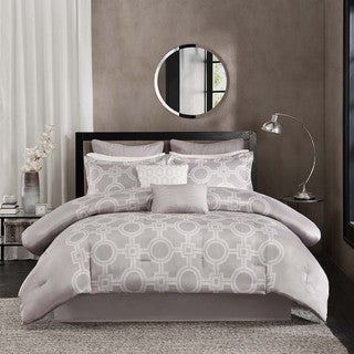 Madison Park Layton Taupe 6-piece Comforter Set