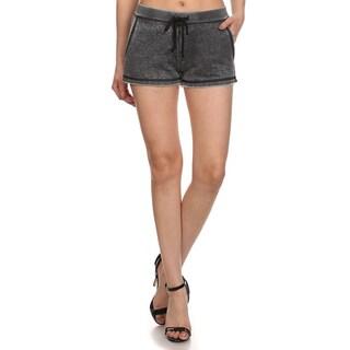 MOA Collection Women's Burnout Running Hot Shorts