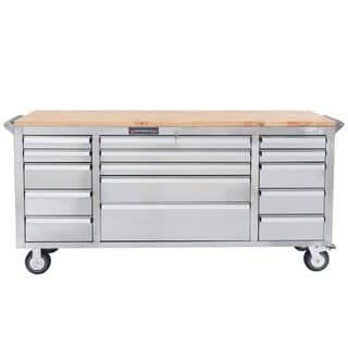 YourTools 72 in. 15-Drawer Tool Chest