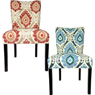 Sole Designs Julia Victoria Spring Seating Double Dow Upholstered Dining Chairs (Set of 2)
