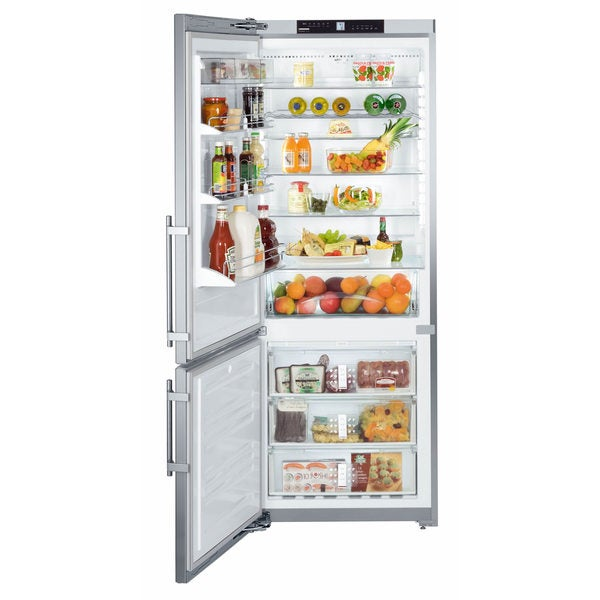 Liebherr CS 1611 Premium NoFrost 30 inches Freestanding or Semi Built-in Refrigerator & Freezer, SmartSteel