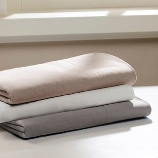 Madison Park Signature Cotton Linen Blend Pillowcases