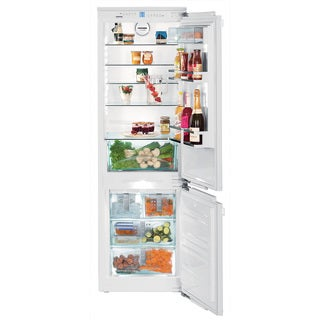Liebherr HC 1080 24 inch Fully Integrated Refrigerator-Freezer Combination with icemaker