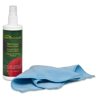 Compucessory LCD/Plasma Screen Cleaner with Cloth - 1 Kit