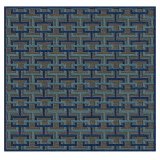 Meticulously Woven Centinela Rug (7'6 Square)