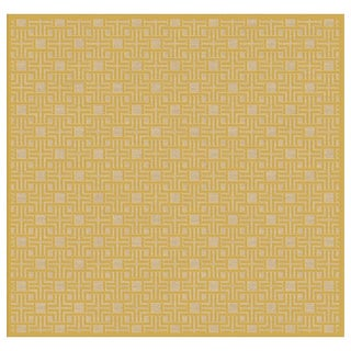 Meticulously Woven Center Rug (7'6 Square)