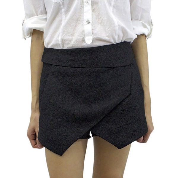Relished Women's Ebony Geometric Tuxedo Skort
