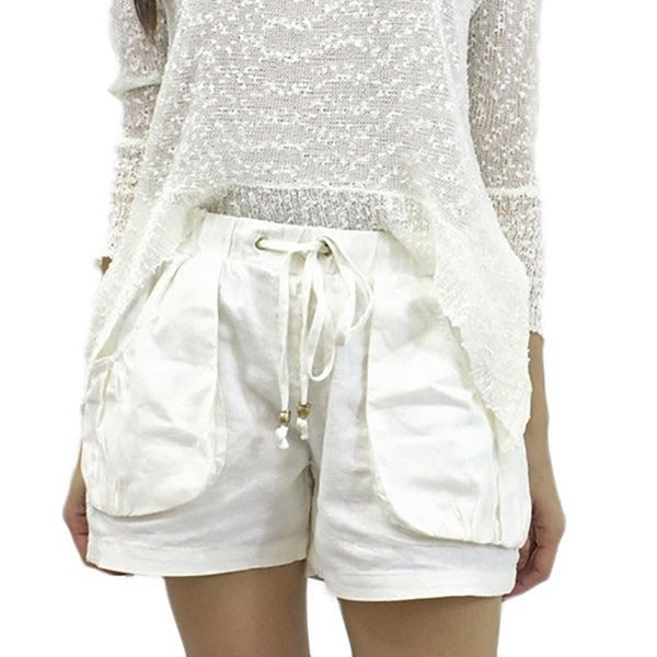 Relished Women's Cream Oceanside Shorts