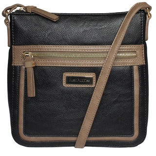 Hush Puppies Faux Leather Two-tone Crossbody