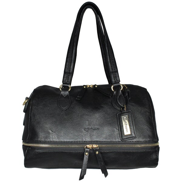 Hush Puppies Faux Leather Kira Satchel