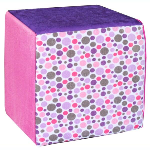 Koala Foam Pink/ Lilac 15-inch Cube