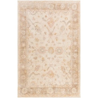 Hand Knotted Belt Wool Rug (4' x 6')