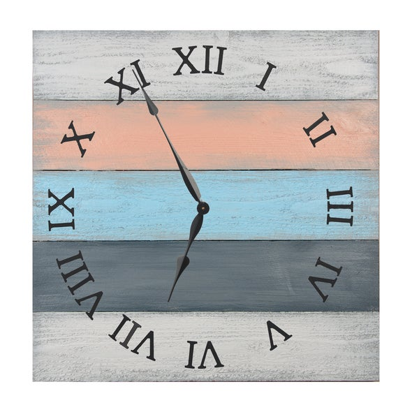 Roman High Tide 27-inch Oversized Wall Clock