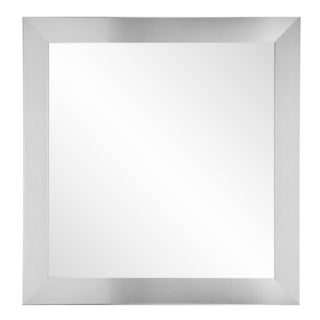 Silver 32-inch Square Wall Mirror