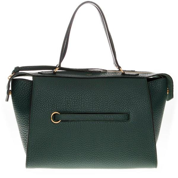 Celine Small Dark Green Ring Bag