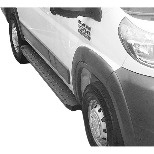 Black Powdercoated Running Boards