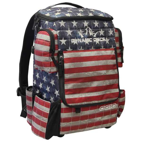 Dynamic Discs Stars and Stripes Ranger Backpack Disc Golf Bag