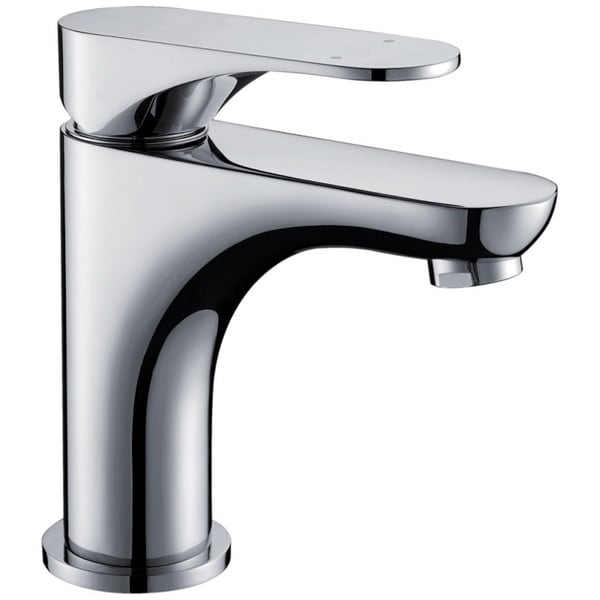 Dawn Single-lever Chrome Finished Lavatory Faucet (Standard pull-up drain with lift rod D90 0010C included)