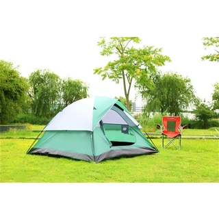 Semoo Large D-Shape Door 3-Person 3-Season Lightweight Family Camping/ Traveling Tent with Compression Bag