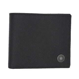 Dolce & Gabbana Black Saffiano Leather Bifold Logo Wallet