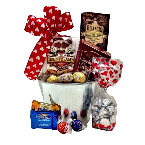 Bucket of Love Gift Basket