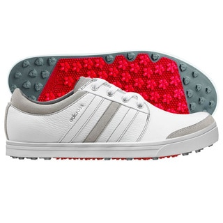 Adidas Adicross Gripmore Golf Shoes 2014 Running White/Light Scarlet