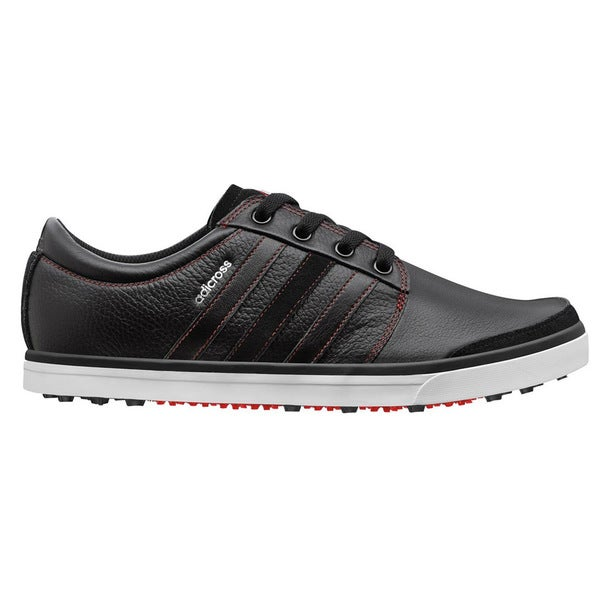 Adidas Adicross Gripmore Golf Shoes 2014 Black/Running White/Light Scarlet