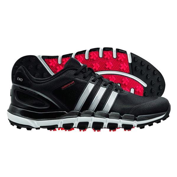 Adidas Pure 360 Gripmore Sport Golf Shoes 2014 Black/Metallic Silver/Light Scarlet