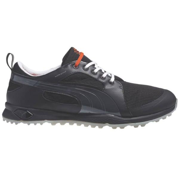 PUMA BioFly Mesh Golf Shoes 2015 Black Puma/Silver