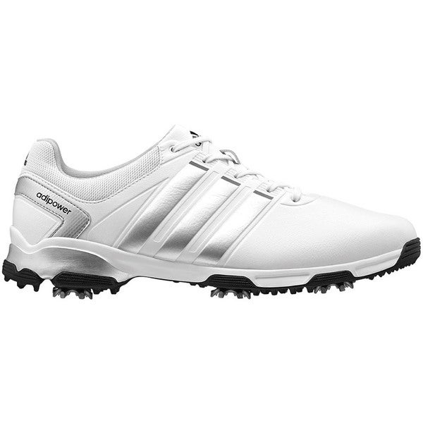 Adidas Adipower TR Golf Shoes 2015 CLOSEOUT White/Silver/Black