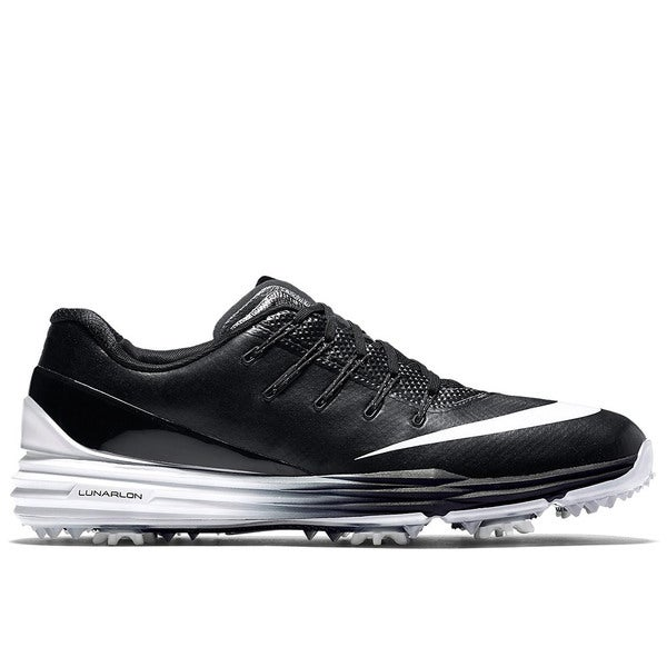Nike Lunar Control 4 Golf Shoes 2016 Black/White