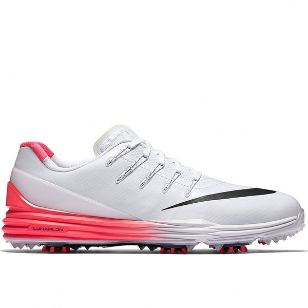 Nike Lunar Control 4 Golf Shoes 2016 White/Bright Crimson/Black