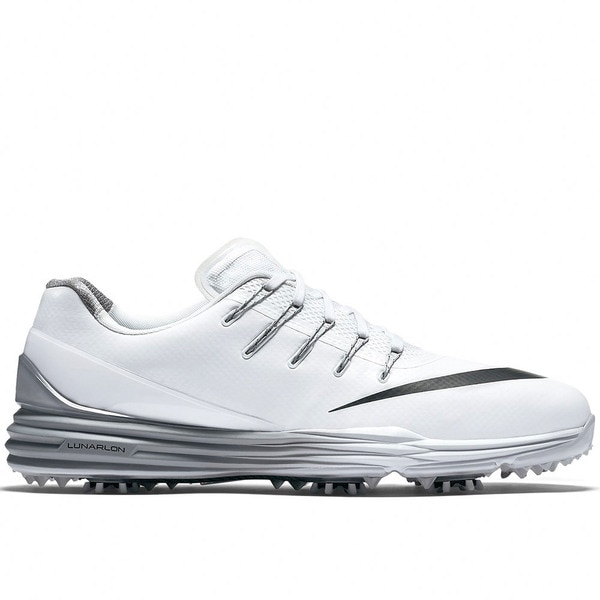 Nike Lunar Control 4 Golf Shoes 2016 White/Wolf Grey/Black