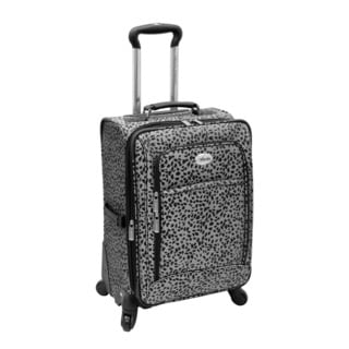 Amelia Earhart Safari Collection 20-inch Expandable Carry-on Spinner Suitcase